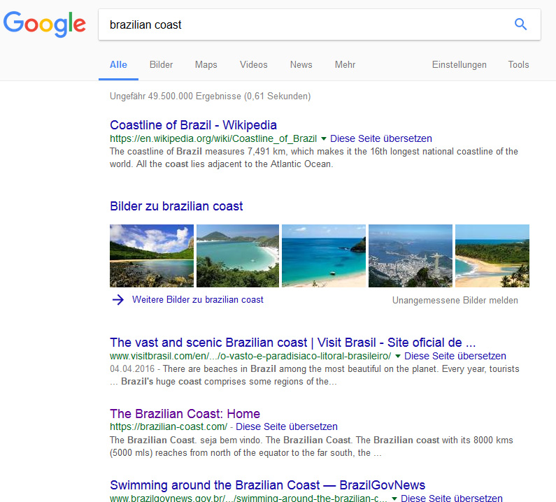 Suchmaschinenoptimierung: Ranking in Google